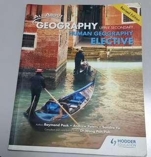 Sec4 Human Geography Elective Textbook(Se4 Olevel)