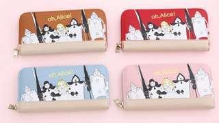 Disney Alice wallet迪士尼愛麗絲 士兵 啤牌人 女裝銀包