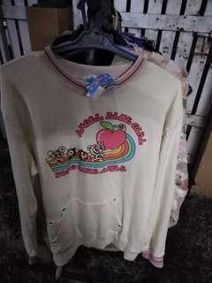 angel. blue girl sweater