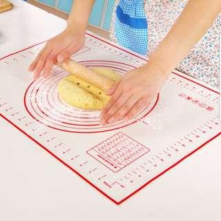Non-Stick Platinum Silicone Pastry Mat/ baking mat/bakeware Kneading Rolling Dough Pad