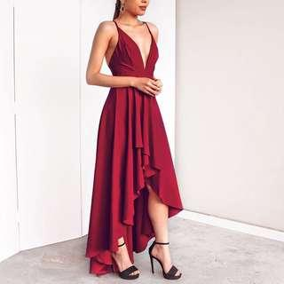 The Red Queen Prom Dress
