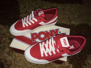 Pony Vintage Slamdunk Ox Canvas