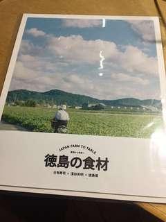 包平郵 元氣壽司 德島 食材 postcard 名信片 明信片