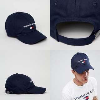 "INSTOCKS Navy ""Tommy Jeans"" Baseball Cap"