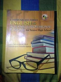 English for Academic & Professional Purposes