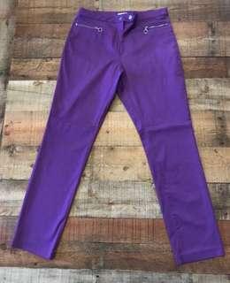 H & M violet pants