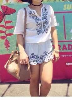 Bohemian top dress