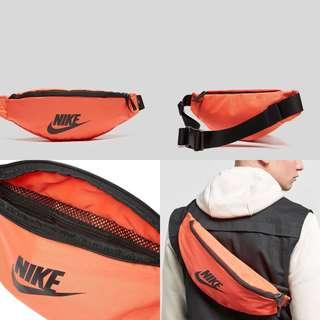 "INSTOCKS Orange Nike ""Swoosh"" Waist Bag"