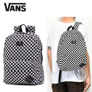 Ransel Vans Original - Old Skool II Checkerboard Backpack