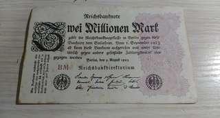 1923 德國三百萬馬克