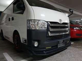 Selling hiace items