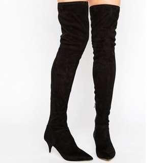 Aldo Thigh High Boots size 7