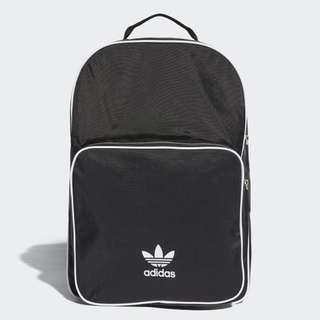 "INSTOCKS Adidas Originals Black ""Trefoil"" Backpack"