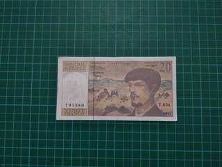 France 1997 20 Francs VF