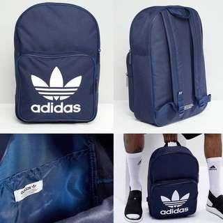 "INSTOCKS Adidas Navy Originals ""Trefoil"" Backpack"