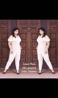 Skintone Plus Size Jumpsuit
