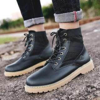 [NEW ][PO] PROMOTION FOR MONTH!!! NEW COOL HIGH CUT BOOTS!!! size 39-44 [ FOR GUY]
