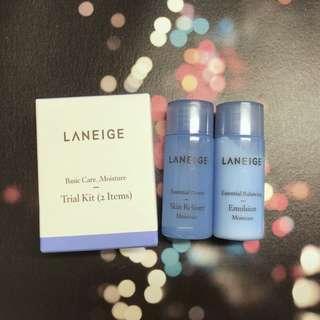 Laneige Basic Care Moisture Trial Kit 基礎護理旅行裝 (Essential Power Skin Refiner 細膚水 15ml + Essential Balancing Emulsion 保濕液 15ml)