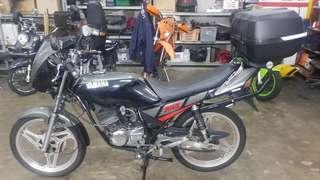 RXZ 135cc Chromed