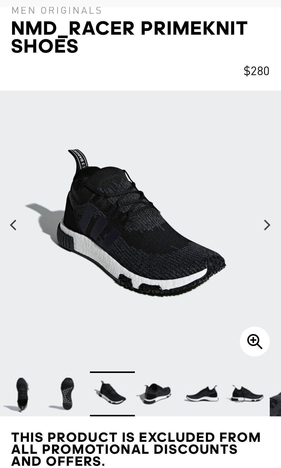 Adidas NMD PrimeKnit trainers BNIB, Men