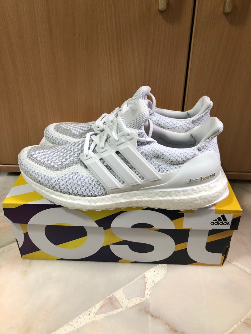 8bd8d02619c81 Adidas ultraboost ltd 2.0 white reflective US9