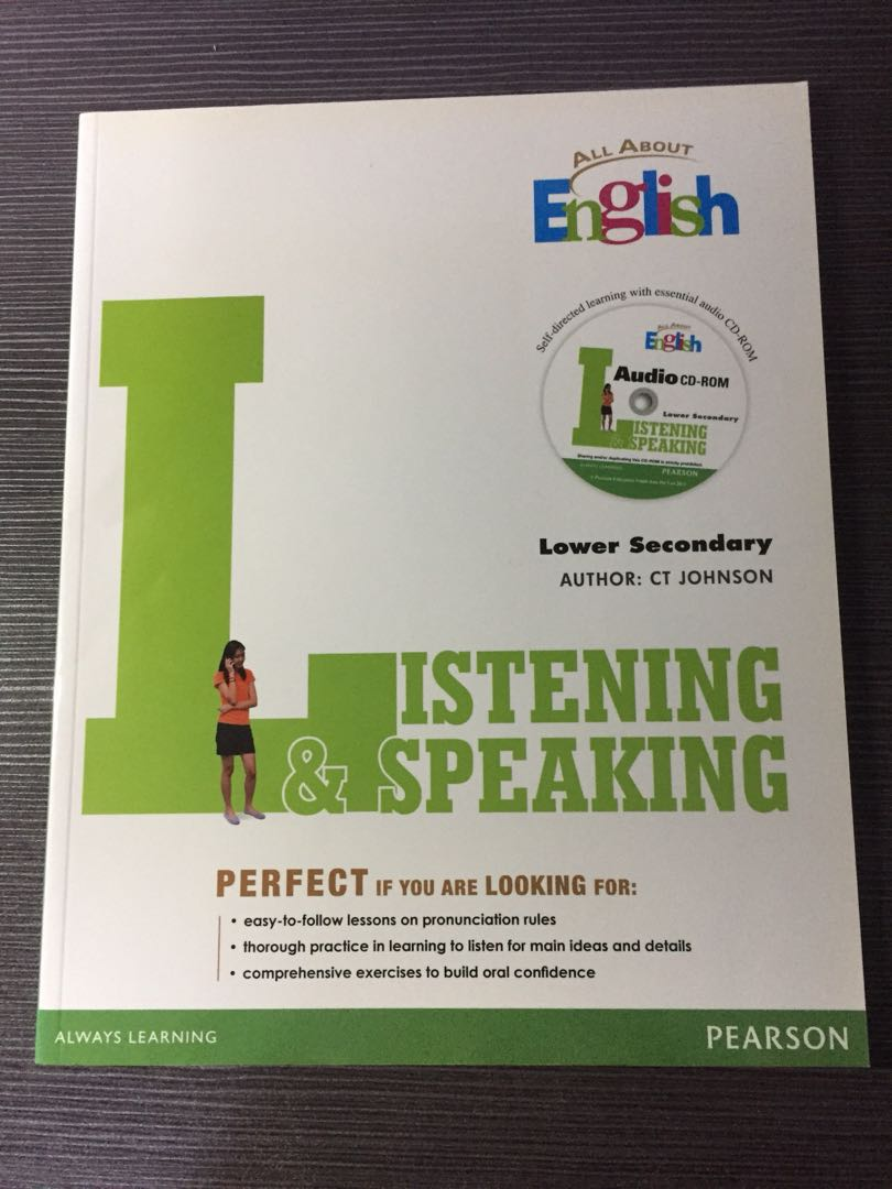 All About English Listening & Speaking Lower Secondary
