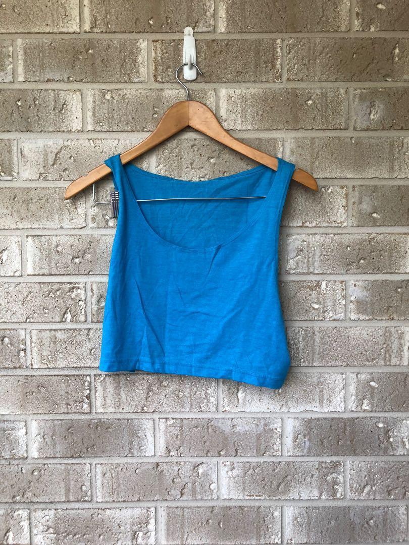 American apparel crop top bulk Neon One size