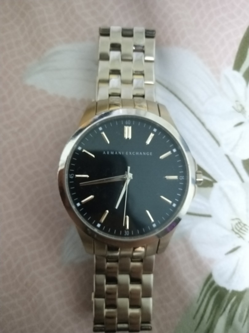 3fdcead53441 Armani Exchange Original Gold Watch