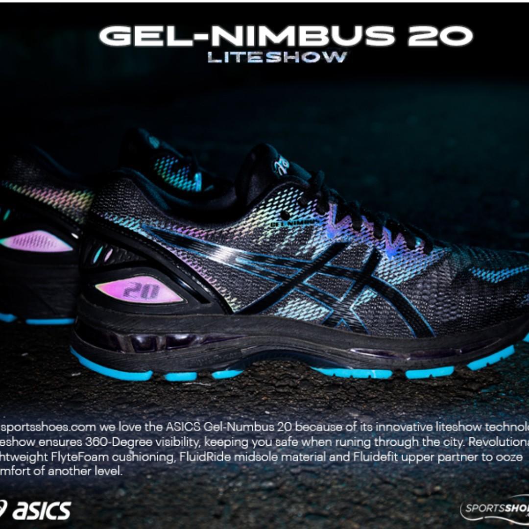 Varios mercado Generalmente hablando  ASICS GEL-NIMBUS 20 LITE-SHOW, Men's Fashion, Footwear, Sneakers on  Carousell