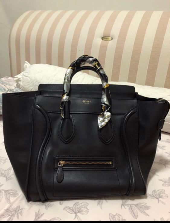 4615671956a Authentic Celine Micro Luggage Bag, Luxury, Bags   Wallets, Handbags ...