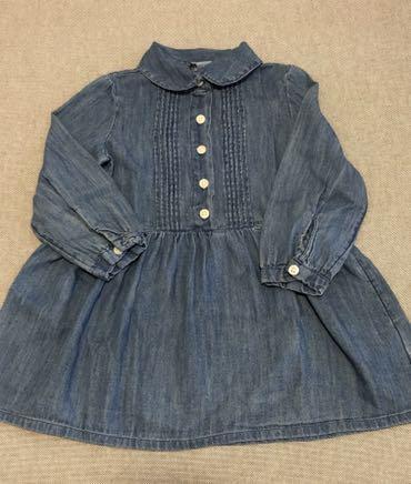Baby Gap Denim Dress Long sleeves 18-24M