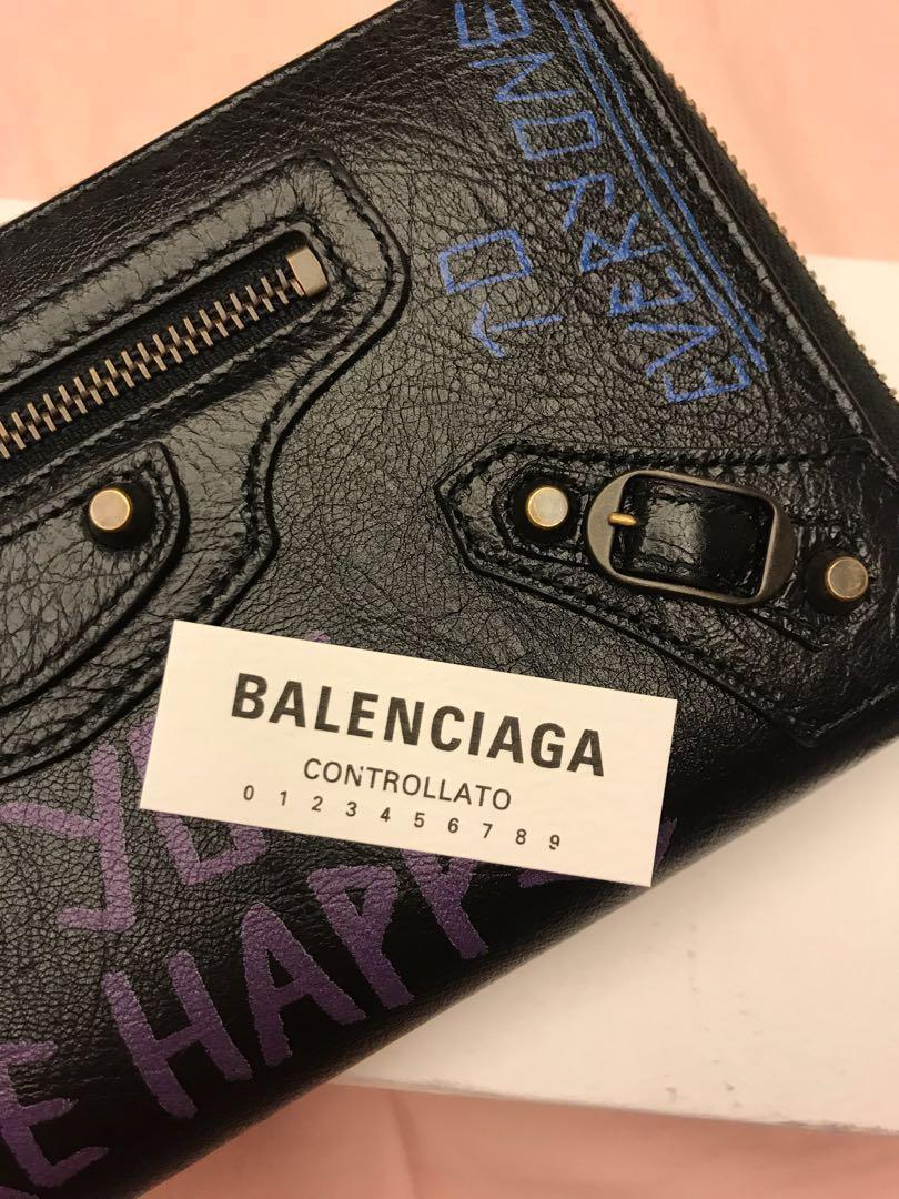 Balenciaga 巴黎世家新款長夾 正品 附收據