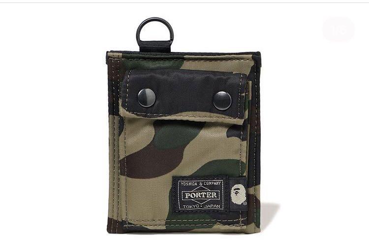 37016739d7c Bape x porter 1st camo wallet
