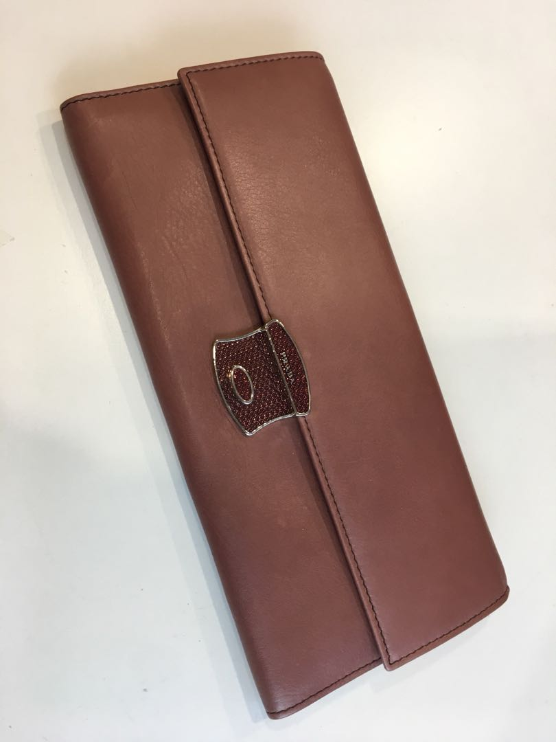 8946b6ed16db45 Brand New Prada Authentic Long Wallet, Luxury, Bags & Wallets ...
