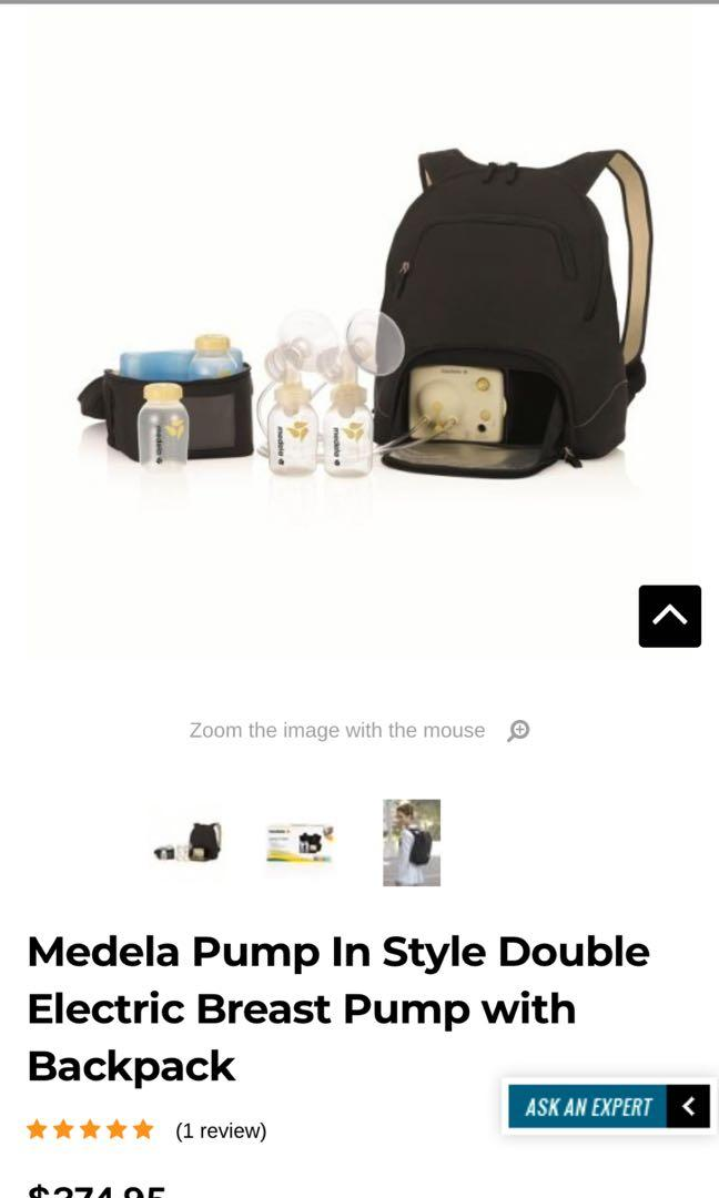 Breast pump, Nursing Pad and Easy expression Bustier.