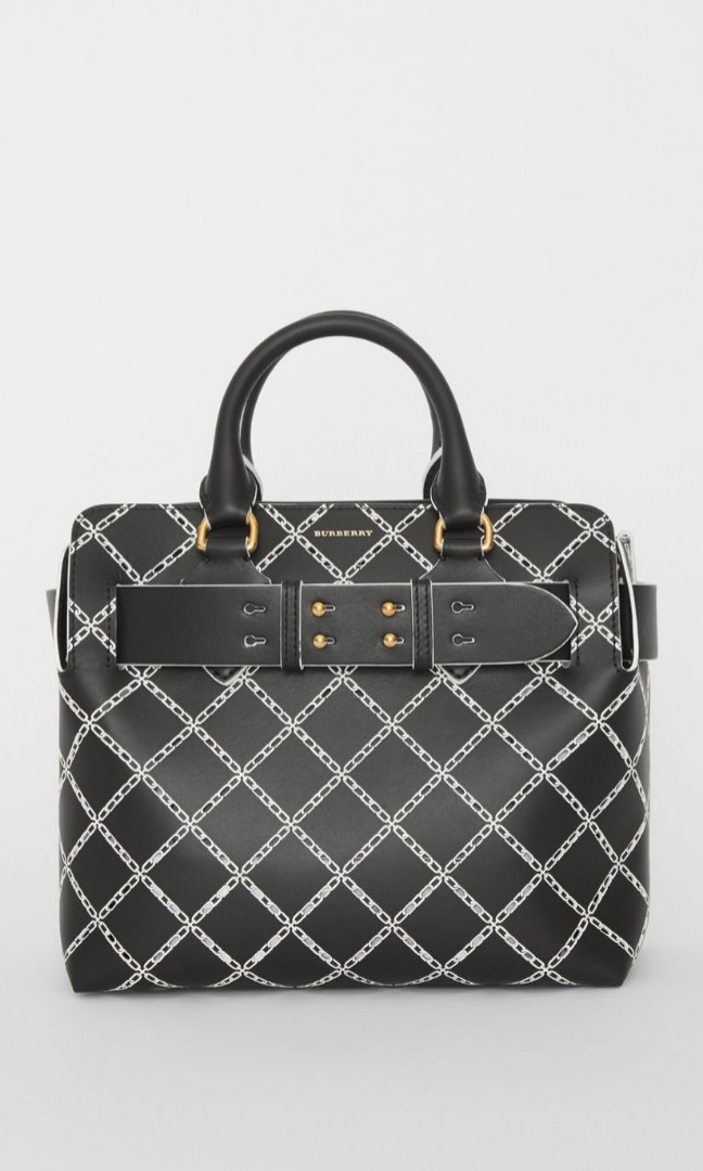 a6e06507284 Burberry Small Perforated Link Leather Belt Bag, Luxury, Bags ...