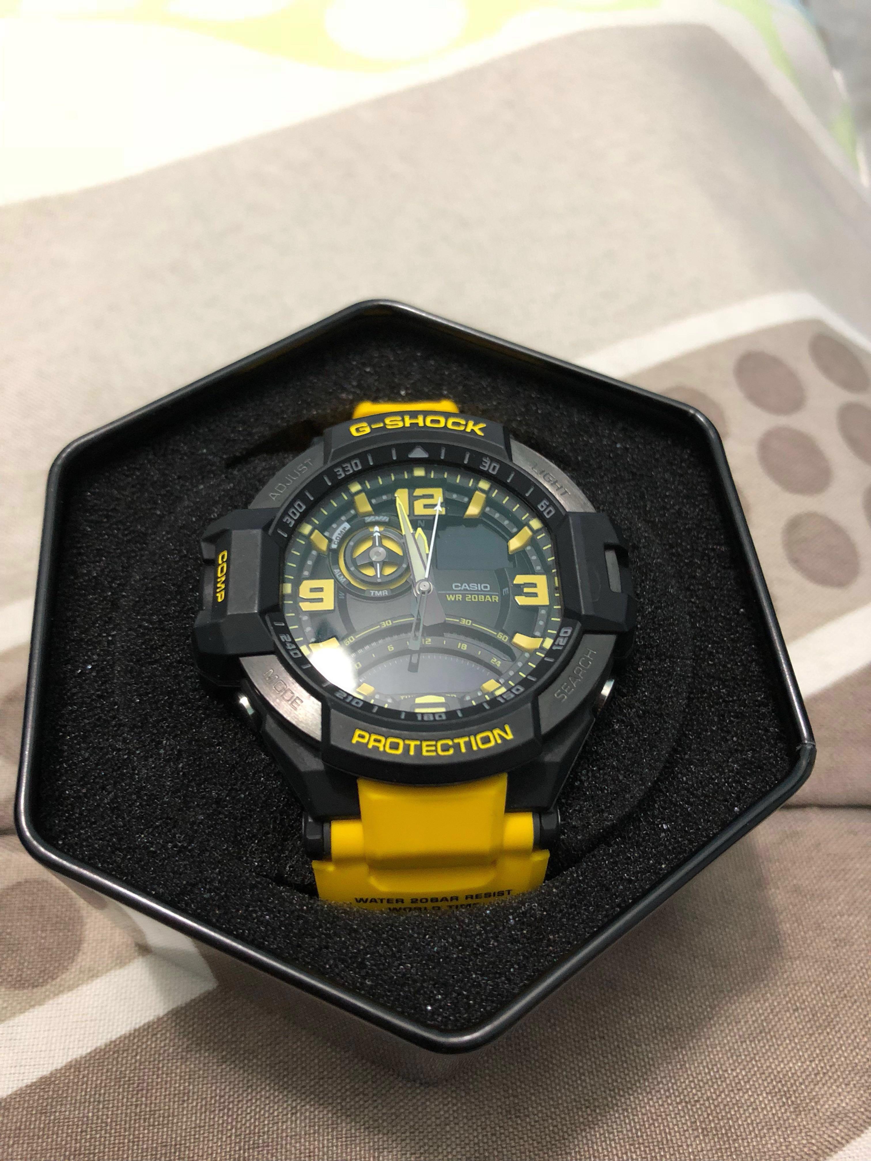 watch ba96e b64db Casio G-shock 1000 5302 yellow, Men's Fashion, Watches on ...