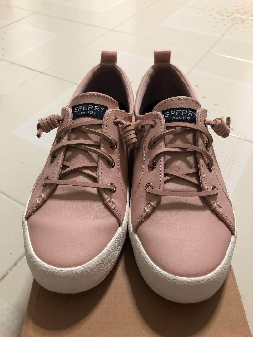 Crest Vibe Ap Crepe Leather Pink