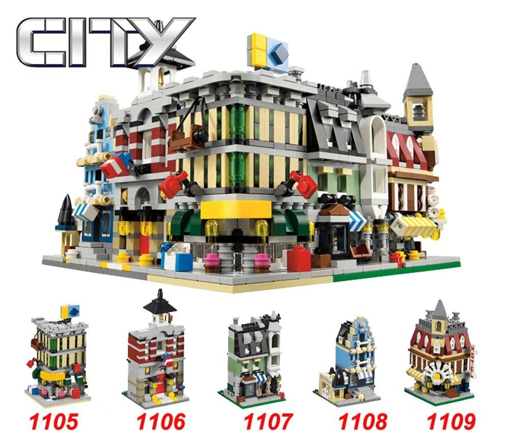City Mini Street View Bricks