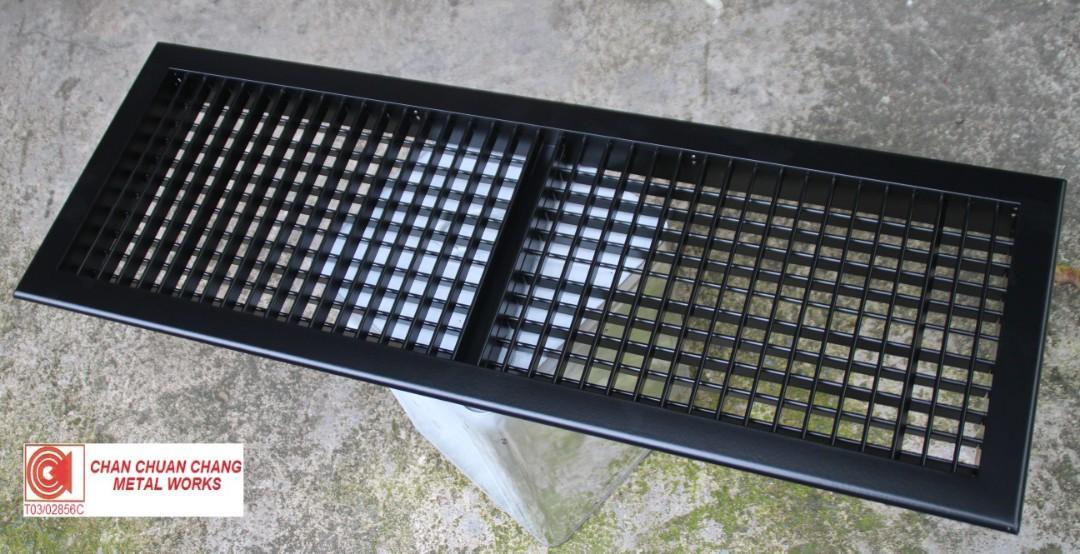 Double Deflection Grille for ACMV & HVAC (Ducting / Shiprepair / Aircon)