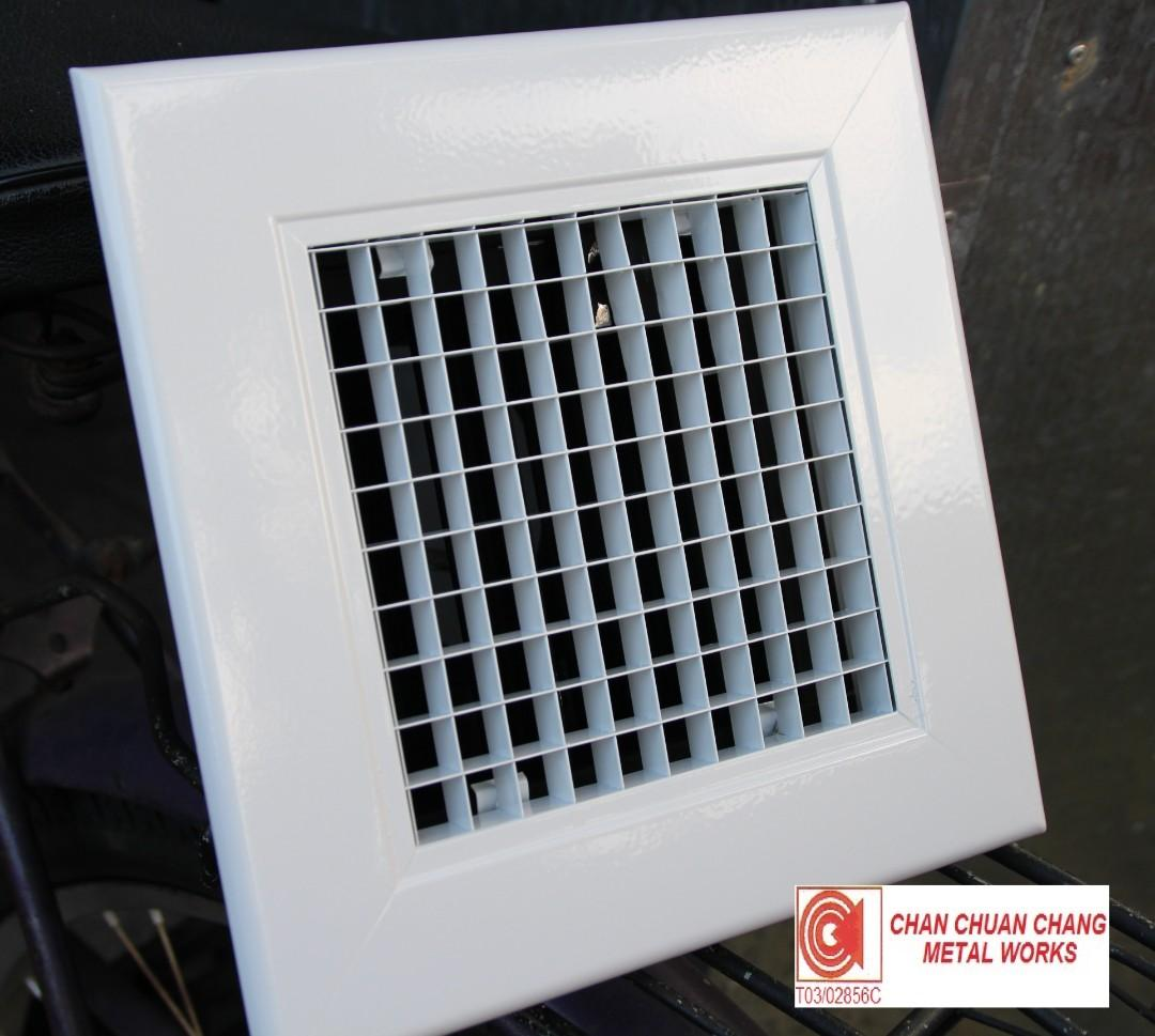Egg Crate Grille for ACMV & HVAC (Ducting / Shiprepair / Aircon)