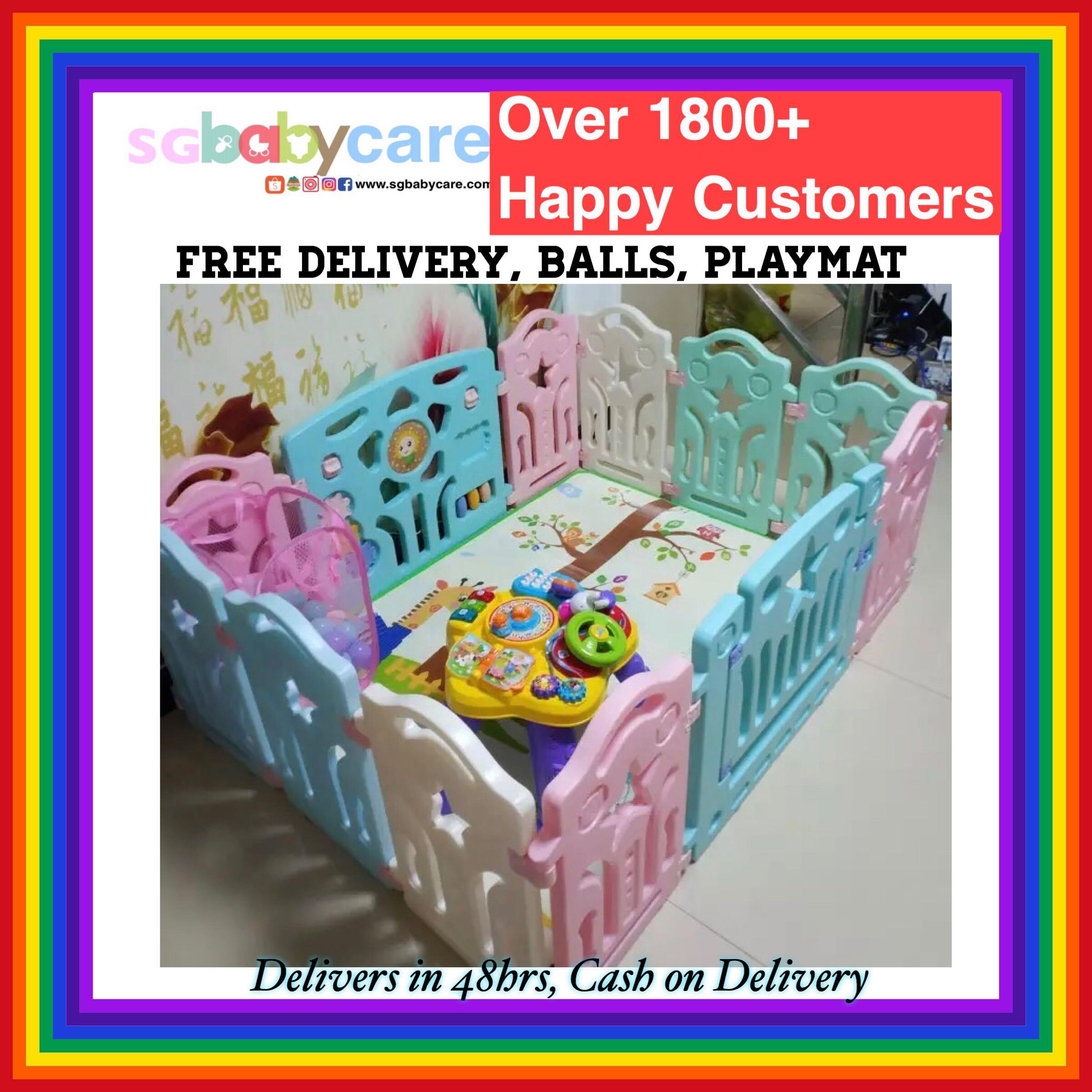 da135fda6 FREE DELIVERY PASTEL Baby Play Yard   Gate   Playpen
