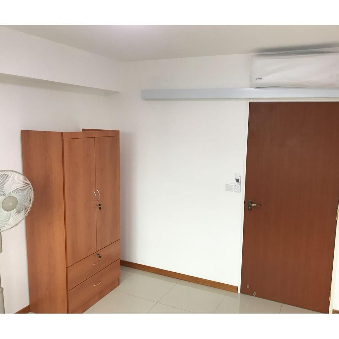 FULLY FITTED COMMON ROOM FOR RENT AT SENG KANG, NEAR LRT/MRT, NEAR SENG KANG GENERAL HOSPITAL
