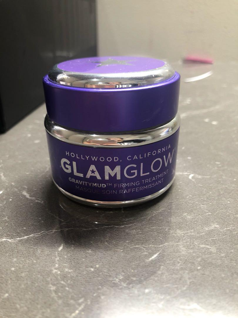 Glam glow silver tightening face mask