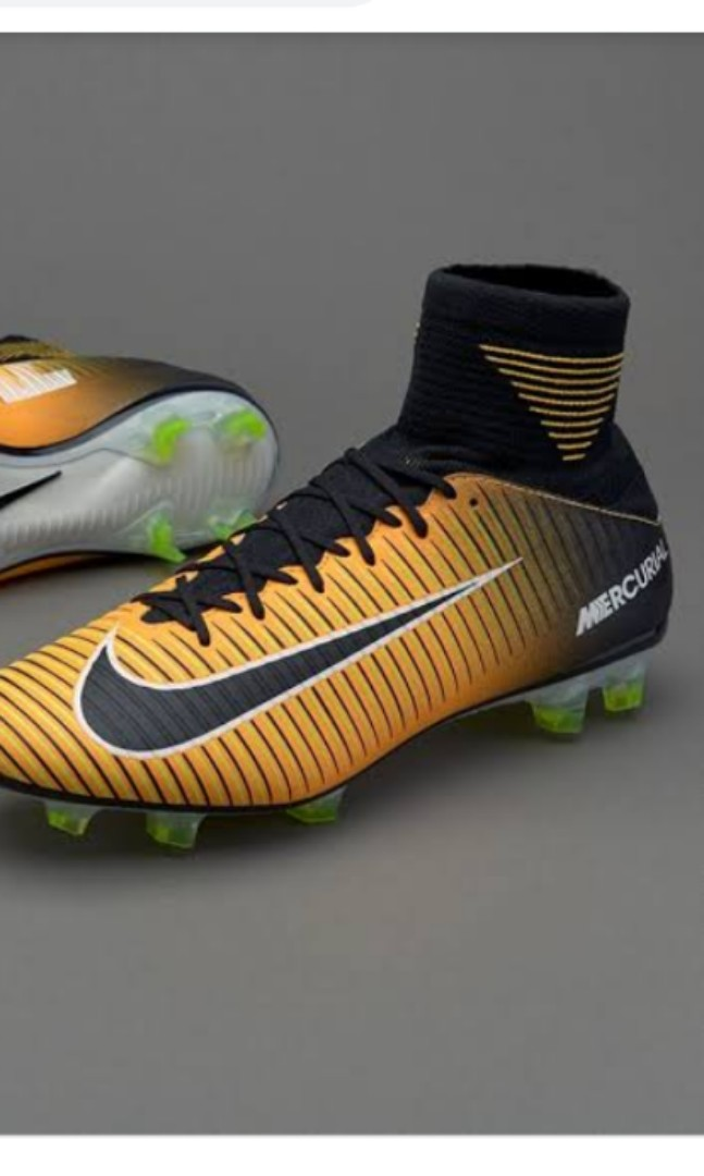 the best attitude 67480 53268 Grade 2 Nike Mercurial Veloce III DF FG football boots soccer cleats ...