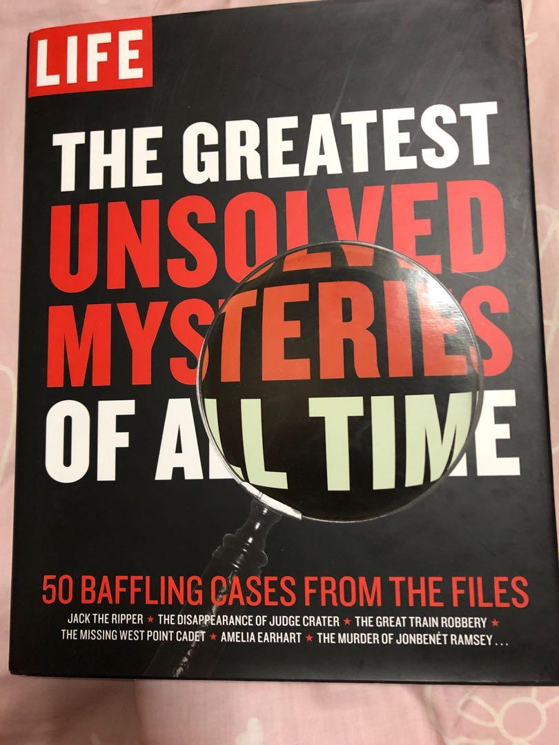 greatest unsolved mysteries of all time, Books & Stationery