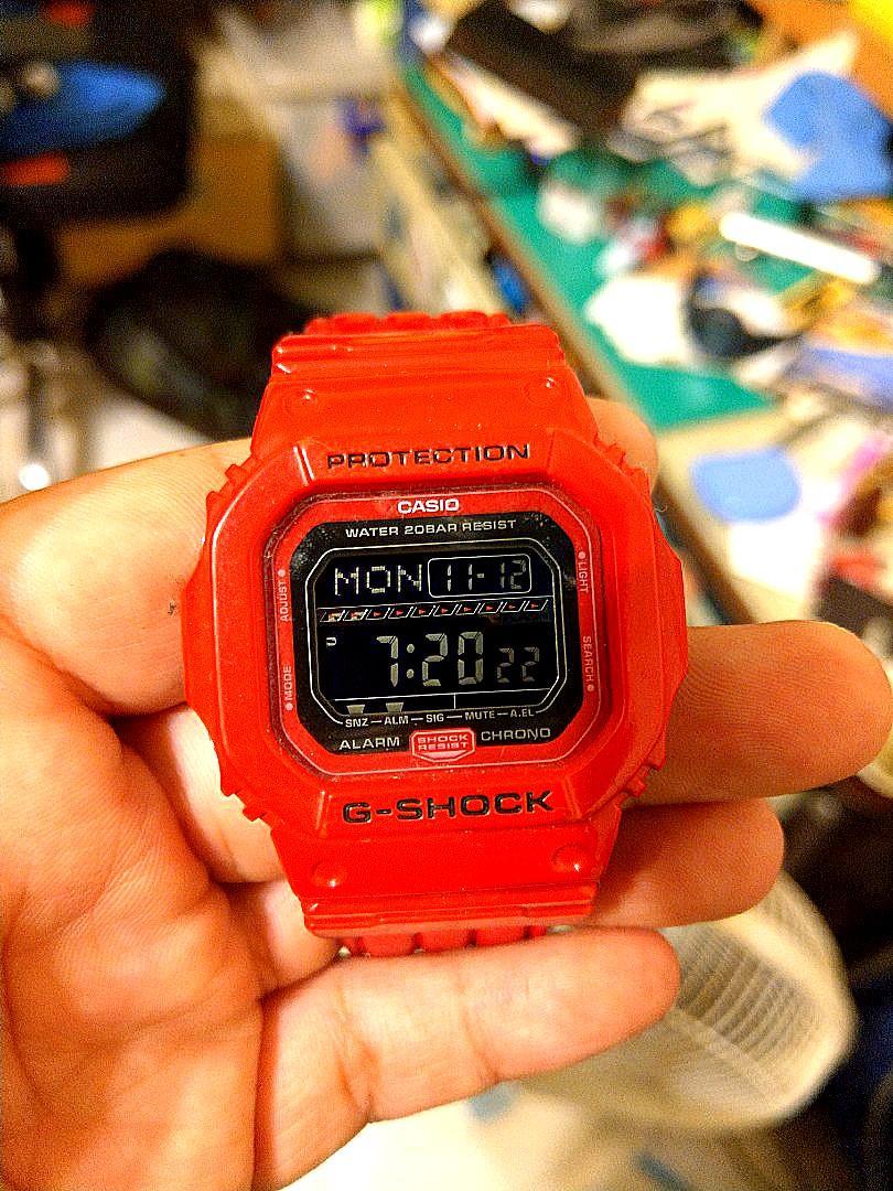 限量GShock protection 含新錶帶