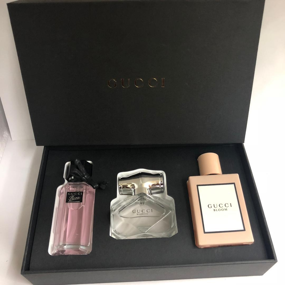 Gucci 3in1 Mini Gift Set Perfume Health Beauty Perfumes Nail