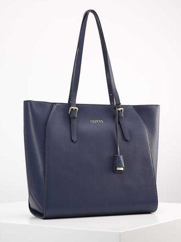 Guess Navy Blue Handbags, Luxury, Bags &