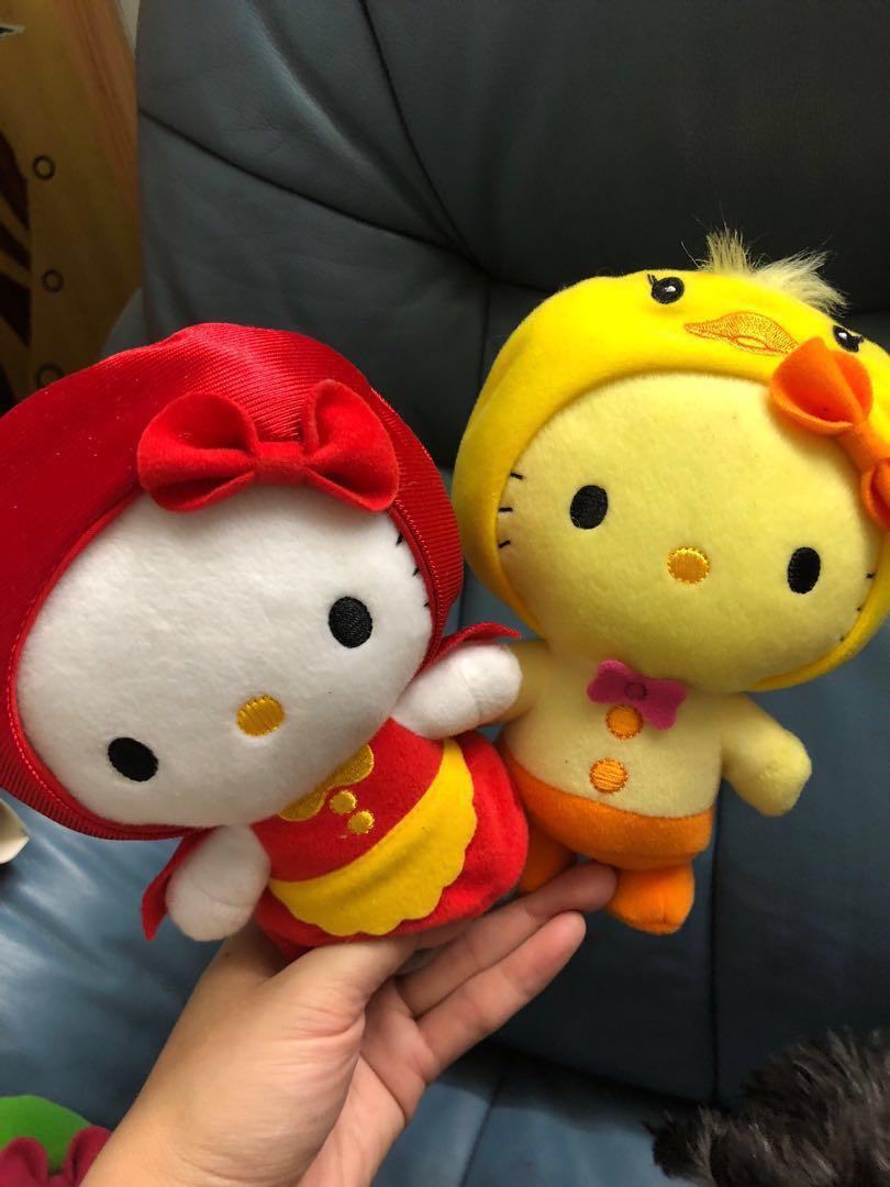 Hello Kitty 公仔 動物造型公仔 麥當勞Hellokitty hello Kitty